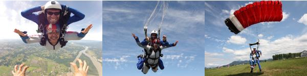 Skydive Vancouver Tandem Jump