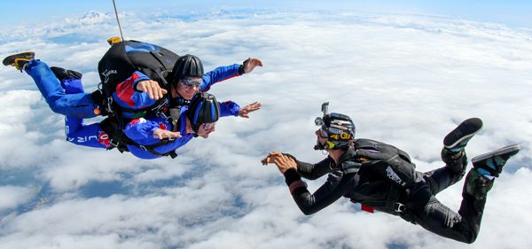 VIDEO PACKAGES - Skydive Vancouver - Tandem Skydiving Vancouver